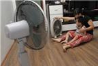 Những sai lầm khi dùng quạt chống nóng ngày hè