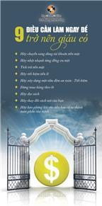 9 điều cần làm ngay để trở nên giàu có