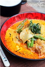 Cà ri đỏ kiểu Thái ngon nức tiếng