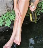 Bí quyết chăm sóc chân nuột nà diện váy ngắn