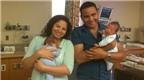 Ca sinh non ly kỳ: Cặp song sinh chào đời cách nhau 21 ngày