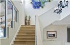Cách bài trí cầu thang trong nhà thuận phong thủy