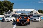 Dàn siêu xe Bugatti Veyron hội tụ