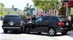 Cadillac Escalade của Justin Bieber bị xe BMW đâm ngang