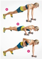 10 động tác đánh tan mỡ bụng hiệu quả