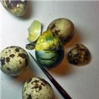 Kiệt tác nghệ thuật siêu nhỏ trên thực phẩm