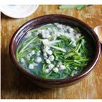 Cách làm món rau muống nấu ngao chua