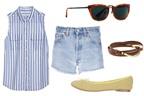 Đa phong cách ngày hè cùng short denim