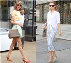 Học cách phối đồ dạo phố hè của Taylor Swift