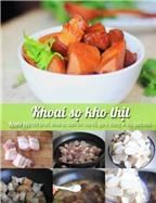 Đãi cả nhà bữa tối ngon lành với thực đơn thịt kho - canh kimchi