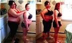 Hai mẹ con cùng giảm cân trong 100 ngày