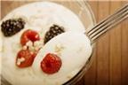Những thực phẩm kết hợp với sữa chua tốt cho sức khỏe