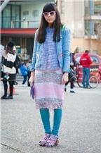 Học tập phong cách tươi trẻ của blogger Susie Lau