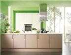 Có nên sơn bếp màu xanh để hợp phong thủy?