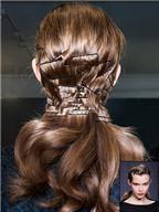 Làm điệu mái tóc nhờ kẹp tăm đơn giản