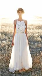 Váy cưới nhẹ nhàng phong cách bãi biển