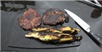 Độc đáo nướng thịt trên dung nham núi lửa