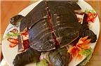 Tận mục món súp rùa nguyên con độc đáo