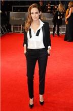 Học lỏm bí quyết mặc vest chuẩn như Angelina Jolie