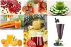 Những loại nước ép rau, củ, quả trị bệnh