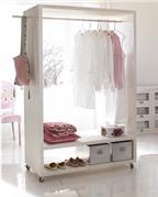 Bí kíp cất quần áo không cần tủ đồ