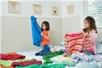 Cách đơn giản để dạy bé mặc quần áo