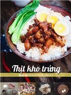Thịt kho - rau xào cho bữa tối thuần Việt đơn giản ngon miệng