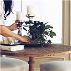 Cách chọn và bố trí hoa, cây cảnh trong nhà