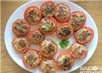 Cà chua nhồi thịt đơn giản cho bữa cơm ngon