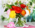 Mẹo giữ hoa tươi lâu
