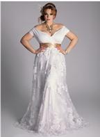 Bí quyết chọn váy cưới cho cô dâu mập