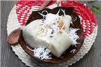 Cách làm món khoai mì hấp nước cốt dừa