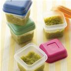 Cách bảo quản đồ ăn dặm không mất chất cho mẹ bận rộn