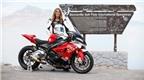 Nữ tay đua đạt tốc độ 336 km/h với siêu môtô BMW S1000RR
