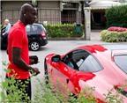 Balotelli khoe siêu xe Ferrari bóng lộn