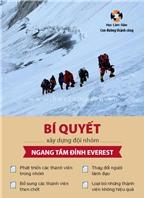 Bí quyết xây dựng đội nhóm ngang tầm đỉnh Everest