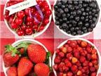 Top 10 loại trái cây hàng đầu chống ung thư