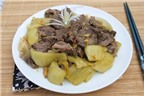 Biến tấu tuyệt ngon các món từ bắp bò
