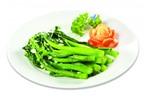 Cách làm món ngồng cải xào tỏi xanh giòn