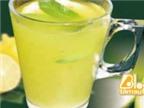 13 lợi ích bất ngờ của việc uống nước chanh