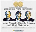 Giải Nobel Vật lý thuộc về phát minh đèn LED màu xanh da trời