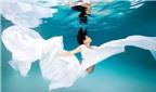 Chùm ảnh tuyệt đẹp mẹ bầu dưới làn nước trong vắt