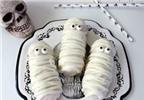 Cách làm món bánh quy xác ướp kinh dị cho lễ Halloween