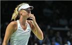 Sharapova đứng trước nguy cơ bị loại sớm ở WTA Finals