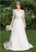 Bí quyết chọn váy cưới cho cô dâu mập mạp