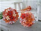 Gấp giấy làm quả cầu hoa theo phong cách Origami
