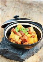 Cách làm món thịt kho khoai tây đậm đà ngày se lạnh