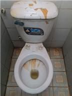 Học sinh không dám đi... vệ sinh