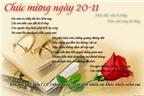 Những bài thơ về ngày 20/11 hay và ý nghĩa nhất