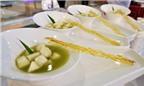 Trang trí món ăn bằng vàng